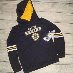 NHL Boston Bruins Open Neck Fleece Hoodie
